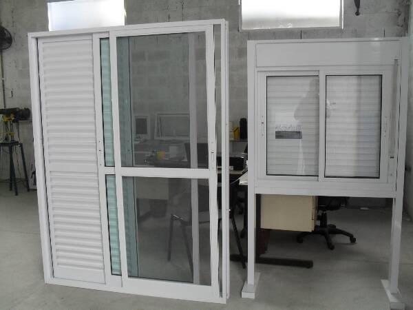 Fábrica de esquadrias de alumínio sp